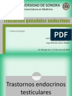 Trastornos gonadales endocrinos