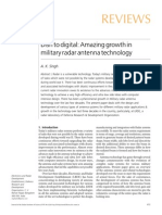 Amazing Growth in Military Radar Antenna Technology