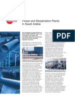 Power and Desalination Plants in Saudi Arabia - - En