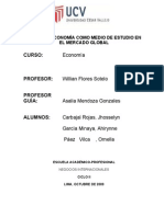 Monografia sobre la macroeconomia como ciencia