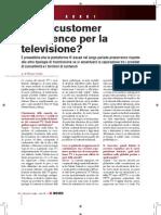 Quale customer experience per la televisione?