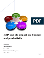 ERP and Its Impact on Business and Productivity (MIM 218) (1)