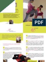 Flyer Método Periné y Movimiento - Blandine Calais-Germain - Anatomía para el Movimiento