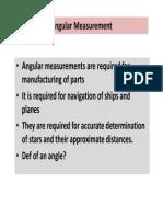 Angular Measurements_unit VII