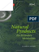 2783 Ais.database.model.file.PertemuanFileContent James Ralph Hanson Natural Products the Secondary Metabolites (Tutorial Chemistry Texts) 2003
