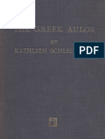 Kathleen Schlesinger - The Greek Aulos [1939, 1970]