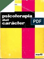 59314749 Kunkel Fritz Psicoterapia Del Caracter Mejorado