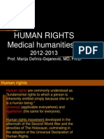 1. Med.hum.II-Human Rights