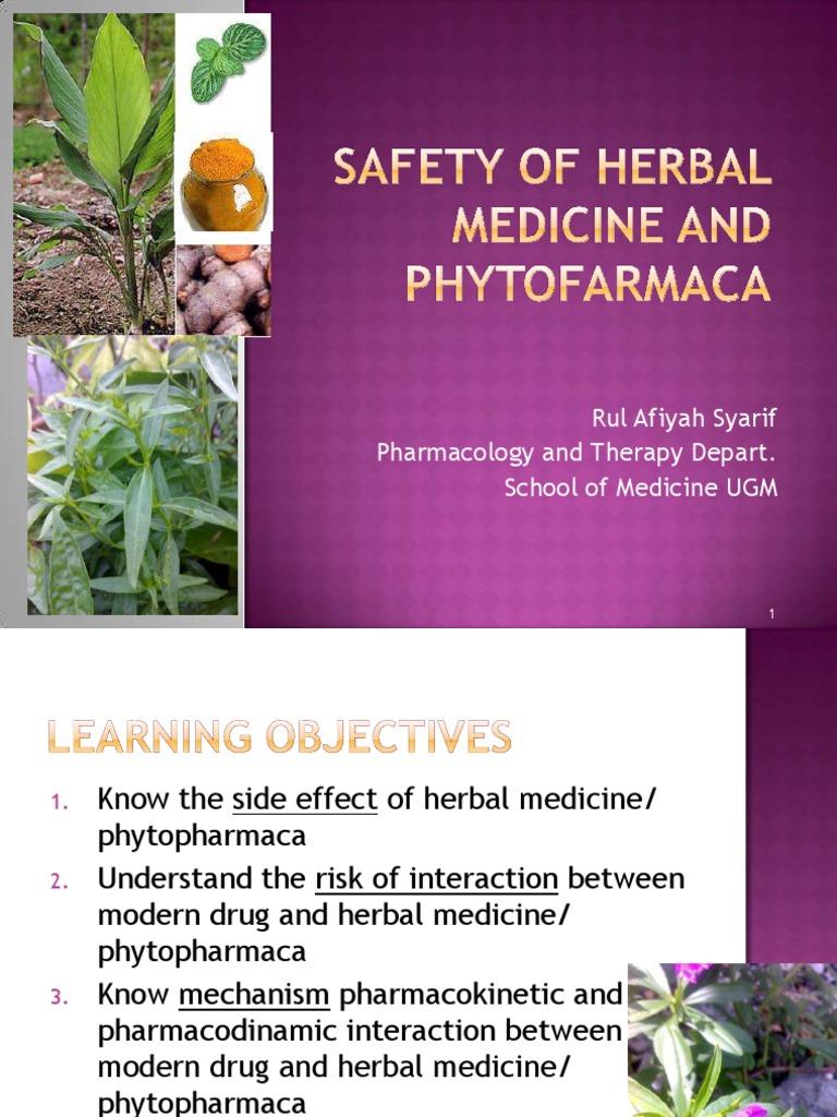 12 Safety Of Herbal Medicine Dr Rul Cytochrome P450 Herbalism Obat Psoriasis Akut