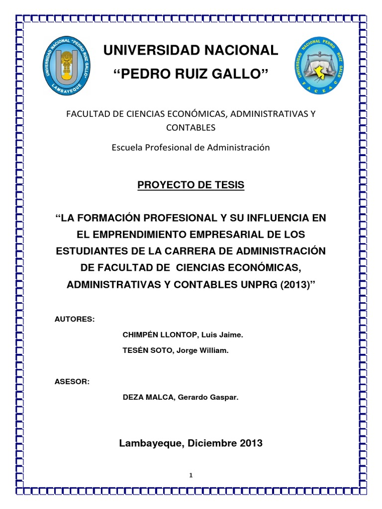 Proyecto de tesis faceac 2 for Proyecto de criadero de mojarras