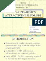 Uttar Pradesh's attractiveness for fdi