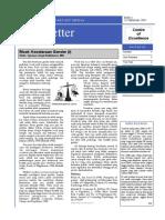 SBM Newsletter Edisi1