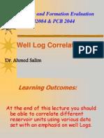 Lec 4-1 Well Log Correlation