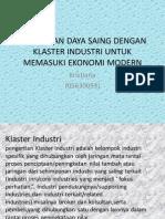penguatan daya saing dengan cluster industry.pptx