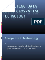 Collecting Data Using Geospatial Technology