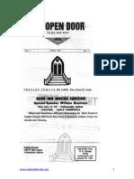 Jim Jones - The Open Door