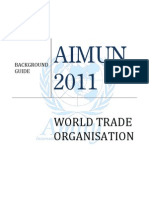MUN WTO Intellectual property rights backgoround guide
