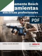 Catalogo Bosch Herramientas Electricas