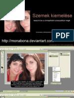 Szem Kiemelese Photoshop Monabonaval 1