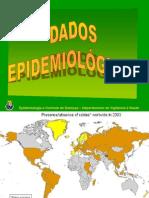 Raiva – Dados epidemiológicos
