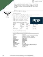 BDT6 - ABS Pressure Gauge 2 En