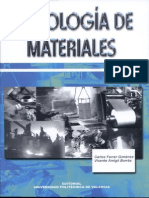 Tecnologia de Los Materiales Carlos Ferrer Gimenez