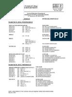 DBTC Final Exams, 2ndsem, 2013-14
