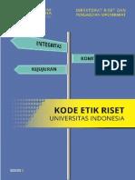 Buku Kode Etik Riset