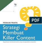 Startupbisnis Strategi Membuat Killer Content