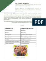 Resumo de Direito Civil - Familia