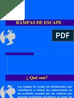 Seción 3 Rampas de Escape