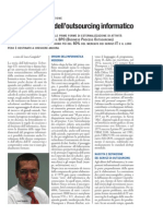Passato e futuro dell'outsourcing informatico