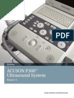 Siemens acuson p300 Datasheet