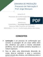 Proc Fabr. II - aula 9 - Laminação.pptx