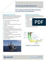 Advanced Model for Drilling and Well Operations