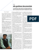 PROCESSI AZIENDALI ESTERNALIZZAT I - L'outsourcing della gestione documentale
