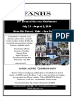 #FANHS2014 national conference flyer