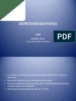 Artritis Reumatoide 2014