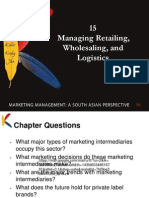 managing wholesaling,retailing