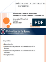 Malas prácticas de programas de estudio Lenguaje