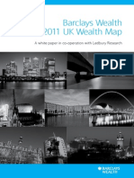2011 UK Wealth Map