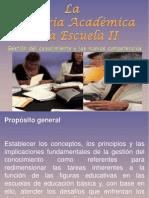 PRESENTACION+Asesoría+Académica+a+la+Escuela+II