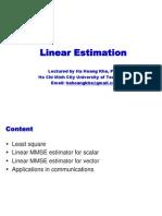 OP02 Linear Estimation