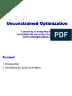 OP02-Uncontrained Optimization