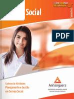 SSO5 Planejamento e Gestao Em Servico Social