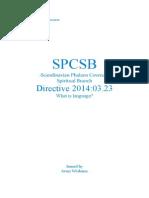 SPC directive 20140323
