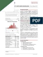 Coop Santamariamagdalena 1210 Social Report (Spanish)