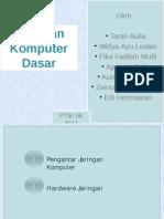 Pengantar Jaringan Komputer & Hardware Jaringan