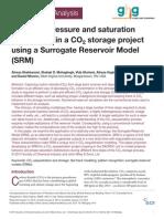 Surrogate Reservoir Model