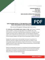 SAFC Pharma Installs Dual Wavelength X-ray Diffractometer